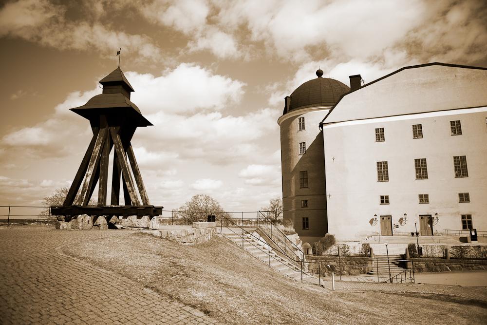 Gunillaklockan och Uppsala slott