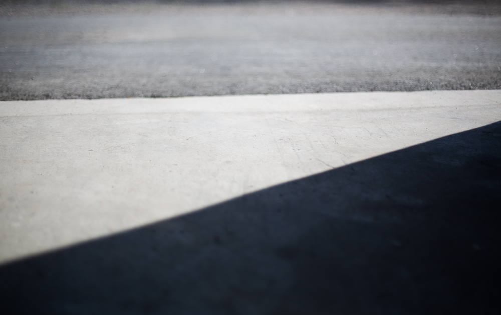 Fotografering av skugga och trianglar