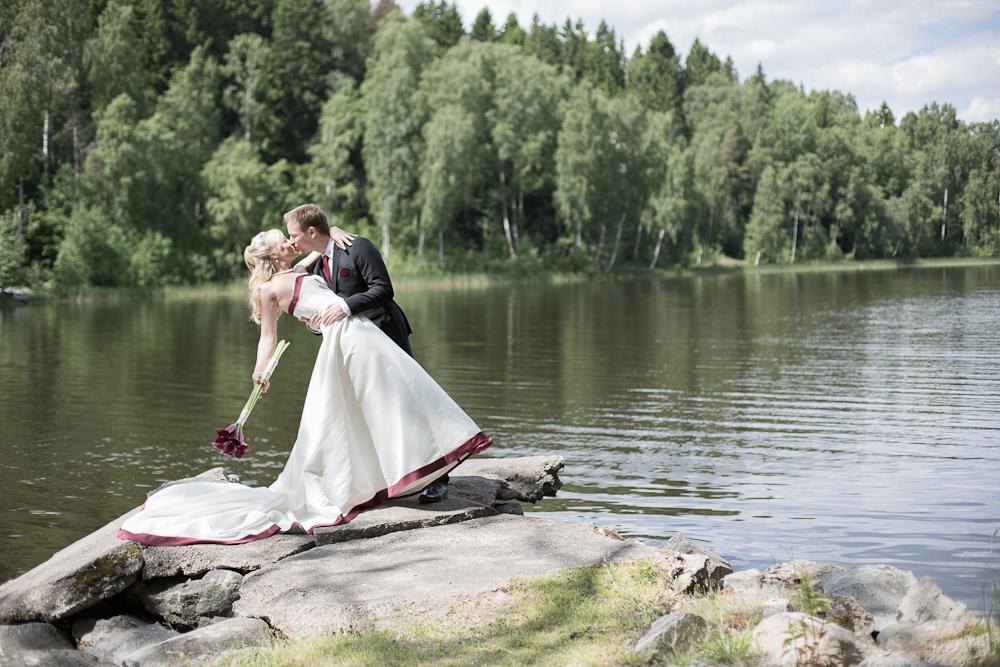 Kyss vid vattnet