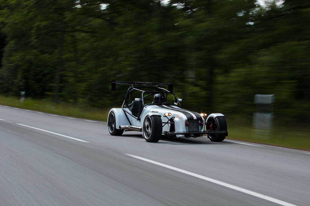 Fotografering av sportbil