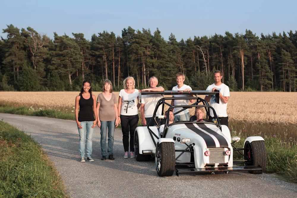 Team Hahlin sommaren 2012