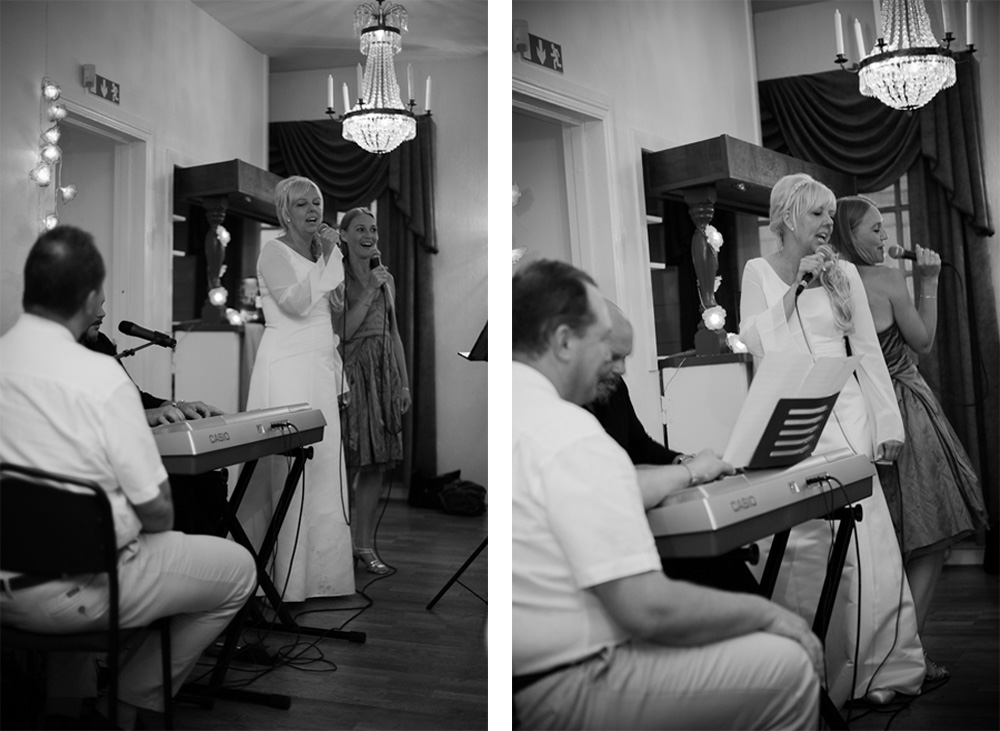 Bruden sjunger