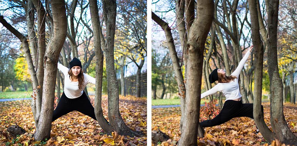 Med träd