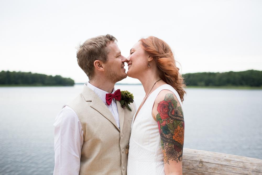 Nästan-kyssen